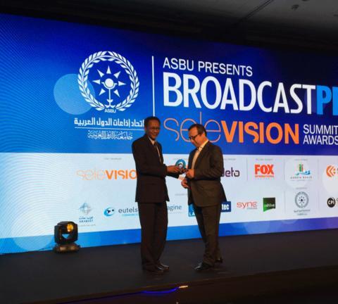 Eutelsat premiata come Operatore Satellitare dell'anno dall' Arab States Broadcasting Union