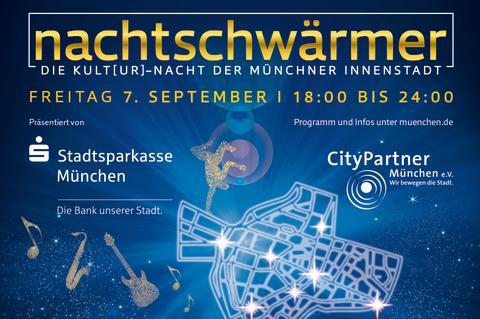 Offene Tore für Münchens Nachtschwärmer zur Kult[ur]-Nacht der Münchner Innenstadt