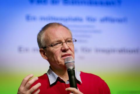 Bengt Wallin - Mässansvarig på Båtmässan 2014