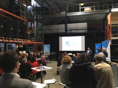 Glasfaserausbau im Wirtschaftspark Erftstadt: Deutsche Glasfaser informiert Unternehmen