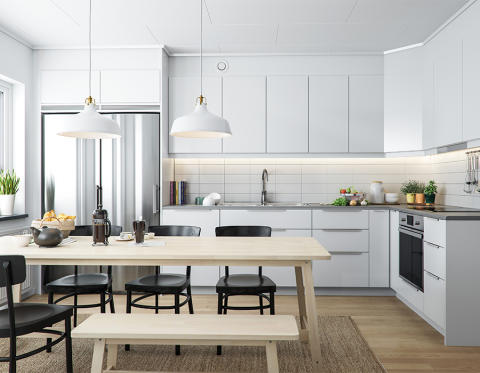 BoKlok bygger 23 radhus i Malmö