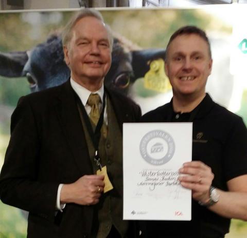 Norrmejerier med Västerbottensost vinner högsta pris på Ostfestival 2016
