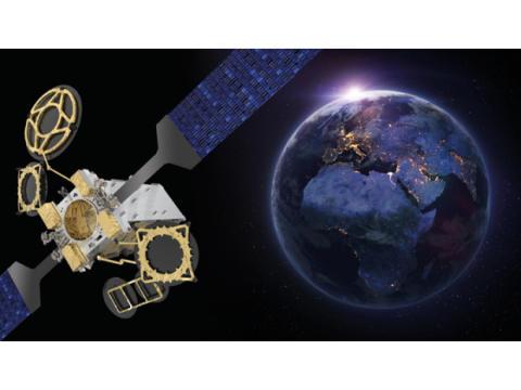 Eutelsat bestellt Satelliten EUTELSAT 10B für die Anbindung von Flugzeugen und Schiffen