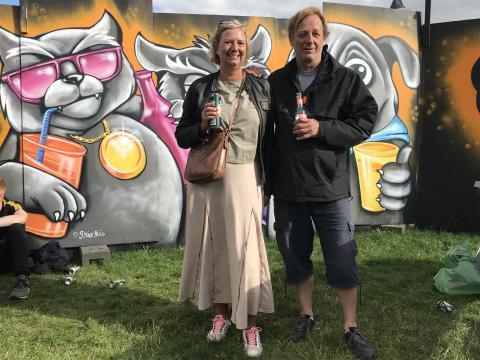 Alle dåser genanvendes på Roskilde Festival – også dem uden pant