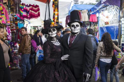 Mexico City's Day of the Dead through the lens of Antonio Olmos