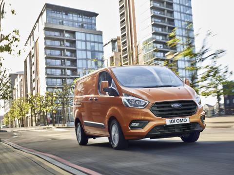Den næstmest solgte bilmodel i Danmark er en varebil