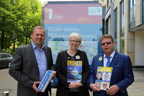"""Kongress der Deutschen Lions vom 3. bis 6. Mai 2018 erstmalig in Leipzig - """"Mut zum Wandel"""""""