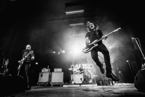 Danko Jones - på turné med Volbeat
