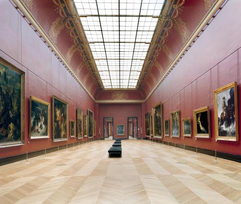 Musée du Louvre Paris XXI 2005. Copyright Candida Höfer_VG Bild-Kunst, Bonn