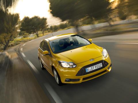 Ny Focus ST er Fords første globale høyytelsesbil.