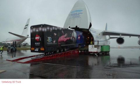 Verladung des 3D Trucks