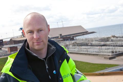 Vardag på reningsverket - möt Andreas som är drifttekniker på Öresundsverket i Helsingborg
