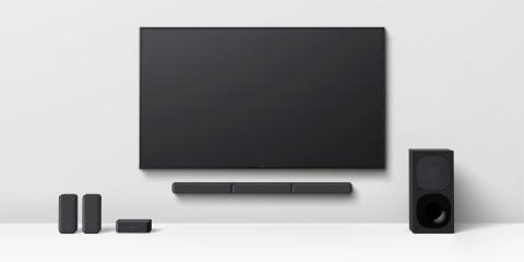 Das neue 5.1-Kanal-Heimkino-Soundbar-System HT-S40R von Sony bringt starken Surround-Sound