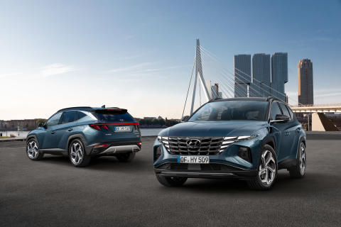 Verdenspremiere for helt nye Hyundai Tucson: Ladbar hybrid fylt til randen med smart teknologi