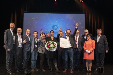 Erster Preis Deutscher Tourismuspreis fuer Brandenburg