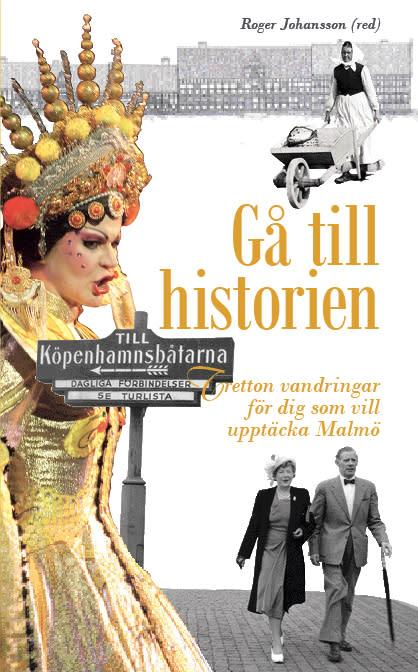 """Stadsbiblioteket i Malmö: """"Gå till historien"""", stadsantikvarie Anders Reisnert  och professor Roger Johansson"""