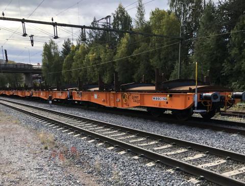 Green Cargo och SSAB ny vagn med nya skivbromsar