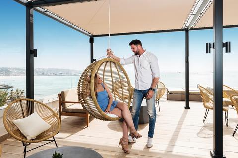 2019-05-14 allsun Hotel Marena Beach - Terrasse