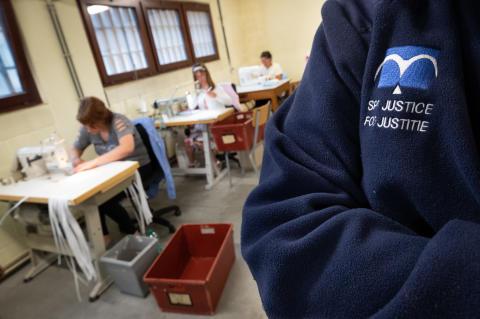 CGSP AMIO - Grève dans les prisons belges - Lockdown