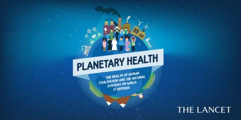 Discovery releases The Rockefeller Foundation-Lancet Commission report on Planetary Health