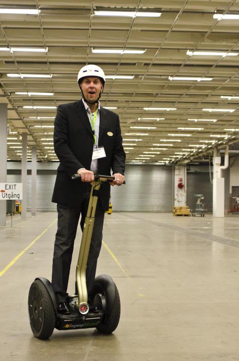 Logistik & Transport Janne Segway