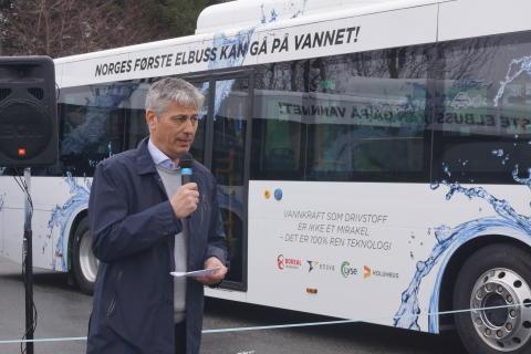 Konsernsjef Kjetil Førsvoll i Boreal Transport