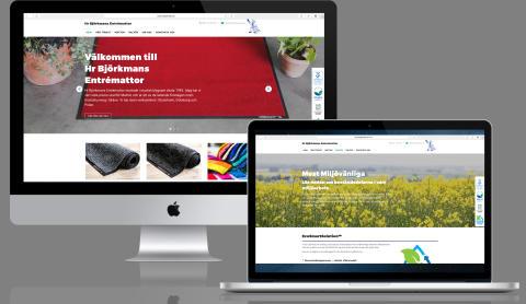 Vi vill presentera vår nya hemsida!