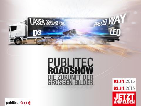 publitec Roadshow: Die Zukunft der großen Bilder