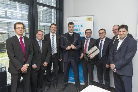 Bayernwerk startet Kooperation zum Breitbandausbau in Bayern