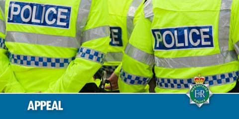 Appeal following incident involving scrambler bikes