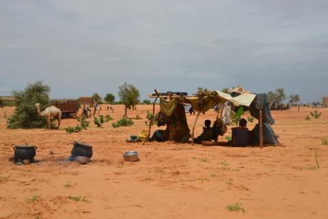 Mali/Niger border