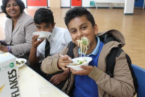 International Flavour at Keppoch Campus Cook-in