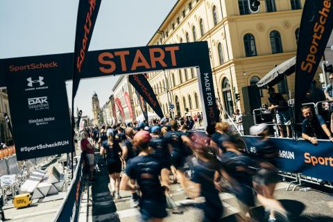 Start frei für den SportScheck RUN München