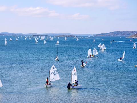 Kappseglingen Liros Nordic Race har gått i mål i Stenungsund
