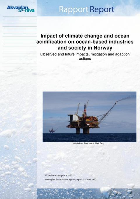 Rapport kunnskapsgrunnlag haveffekter klima og havforsuring
