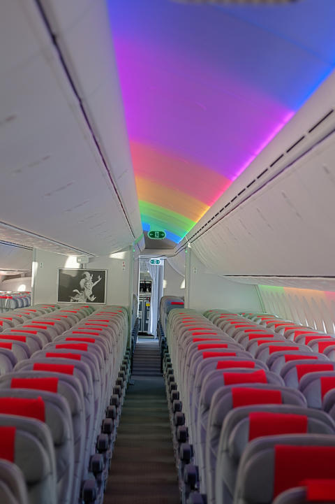 787 Dreamliner Interior