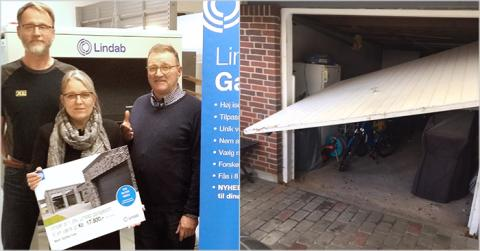 Mange ville gerne vinde en Lindab garageport.
