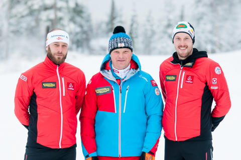 Det østerriske skiforbundet (ÖSV) på trening i Trysil.