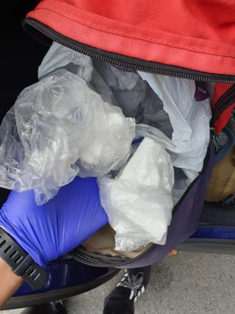 Suspected drugs seized