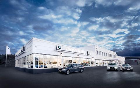 Bavaria Sverige Bil  tillträdde BMW-återförsäljaren Englunds Bil i Luleå