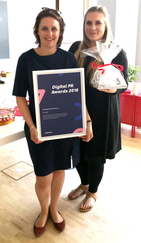 Verleihung des Digital PR Award