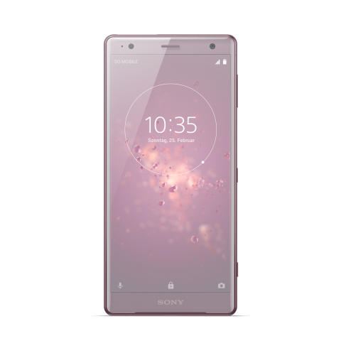 Xperia XZ2_front_Ash Pink