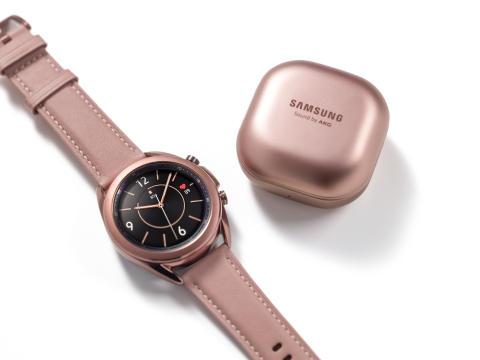 Samsung presenterar Galaxy Watch3 och Galaxy Buds Live