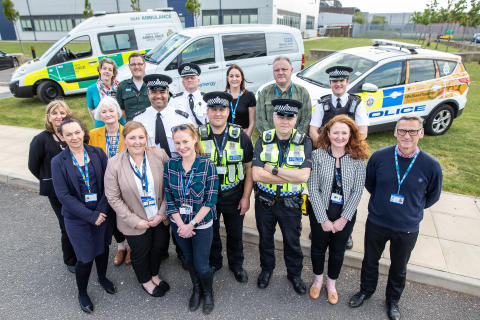 Mersey Care NHS Foundation Trust and Merseyside Police jointly launch new bespoke mental health triage car
