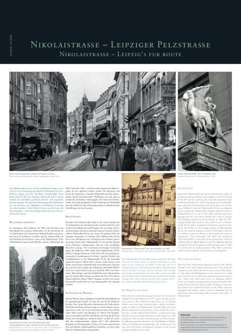 """Fotokalender """"Fantastisches Leipzig"""" 2019 - Oktober Rückseite"""