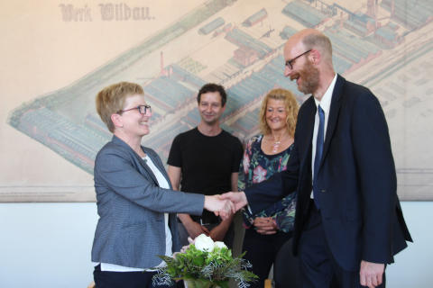Kooperationsvereinbarung mit der Geschwister-Scholl-Gesamtschule Zossen zur Studienorientierung