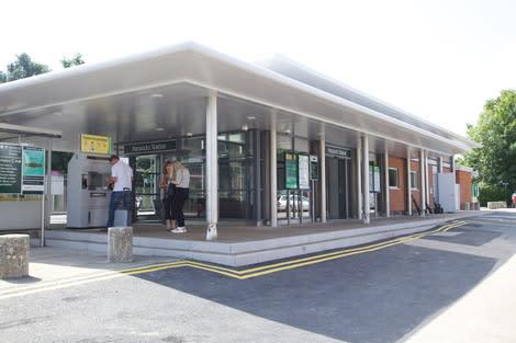 Hassocks station shortlisted for national award