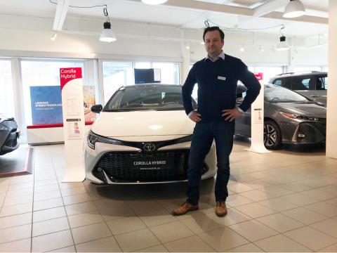Høy Toyota-etterspørsel i april i Narvik