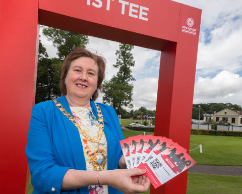 One week until ISPS HANDA World Invitational swings into Mid and East Antrim
