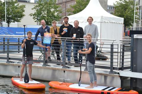 Die Veranstalter des Kieler Bootshafensommers freuen sich auf den Start am 19. Juli.